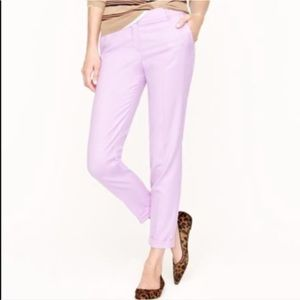 J. Crew Cafe Capri in Lilac Purple Wool 4 K3046